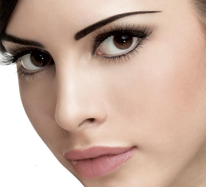 eyebrow eyelash tint lift wide eyes glam colour