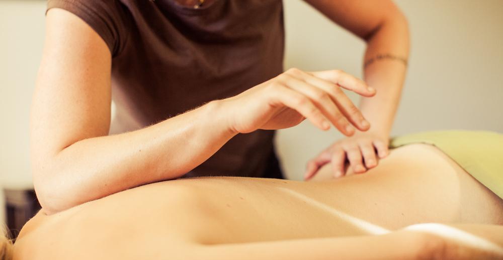 Deep tissue massage treatments pain tension