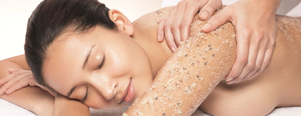 scrub-massase body relaxing firming slimming toning