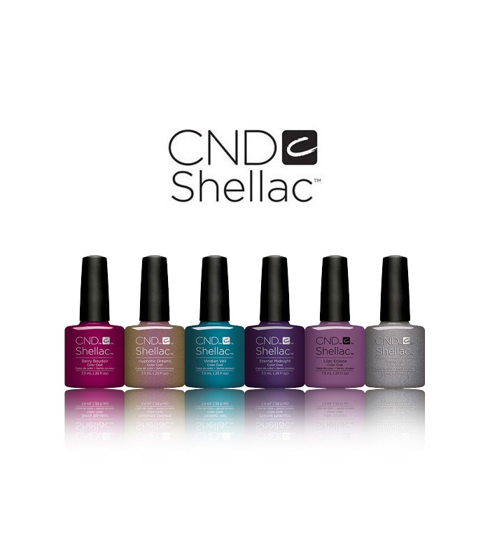 CND shellac gel polish manicure