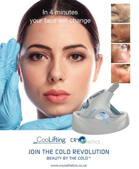 Cool Lifting Facial / Coolifting Facial ice frozen facial