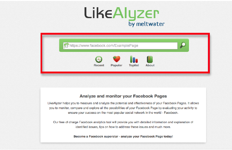 Facebook likealyzer