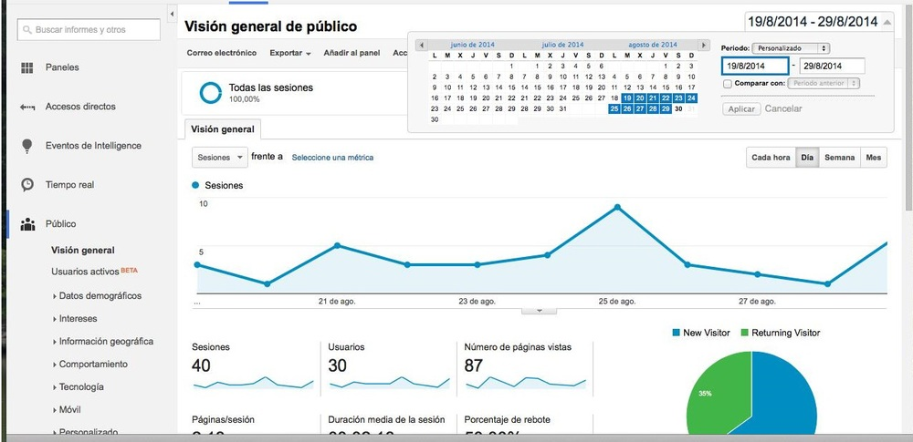 principal google analytics