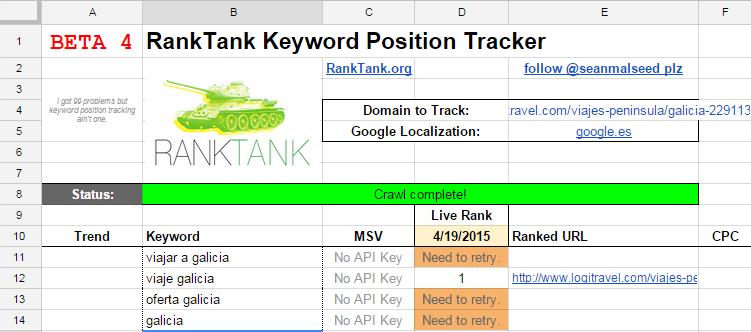 posicionamiento en google ranktank