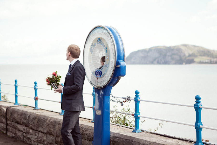 Seaside Elopement - Llandudno, Wales - www.catlaneweddings.com