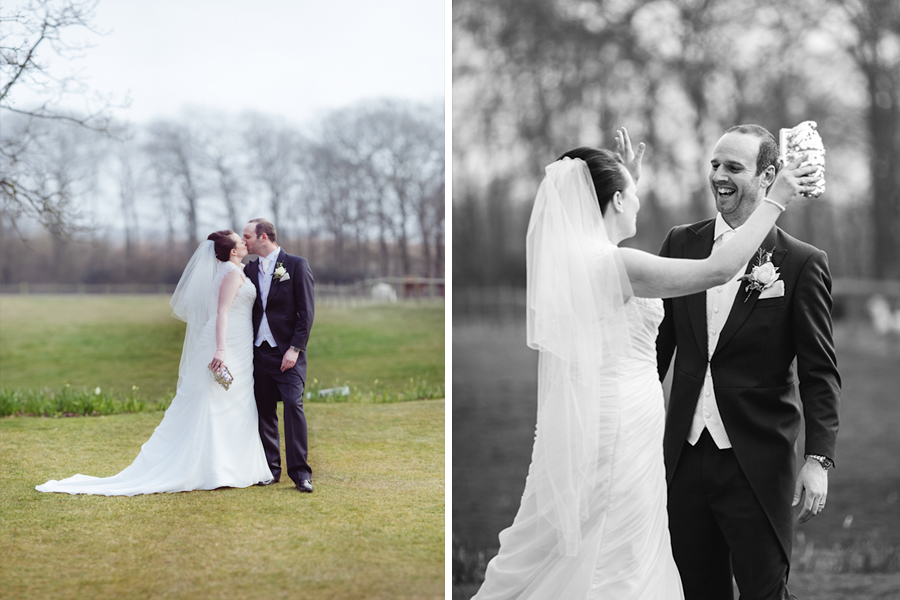 Jon & Susie - Singleton Lodge Wedding, Lytham - www.catlaneweddings.com