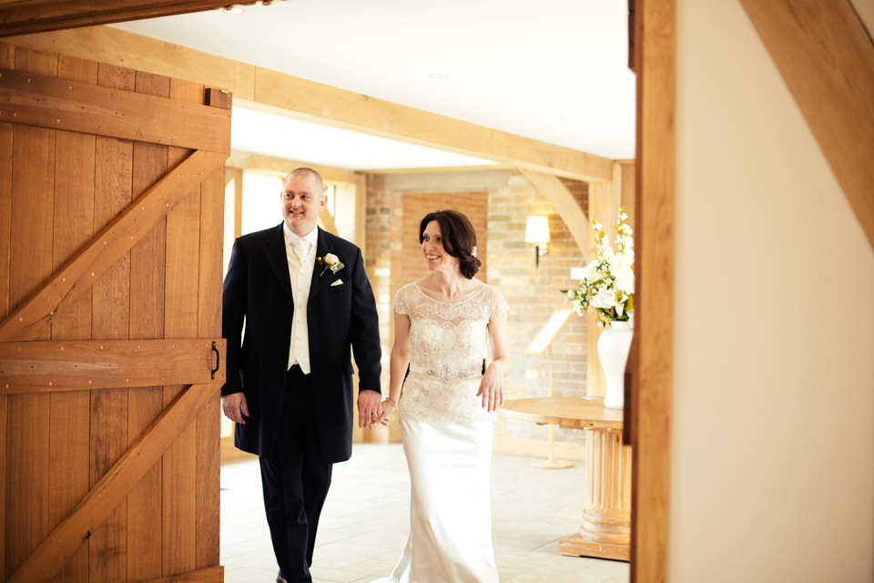 Amanda & Simon - Bassmead Manor Barns Wedding - www.catlaneweddings.com
