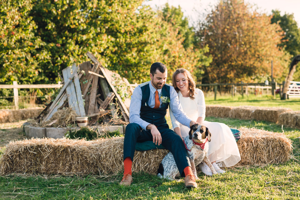 Nic & Wilf - North Hill Farm Tipi Wedding - www.catlaneweddings.com