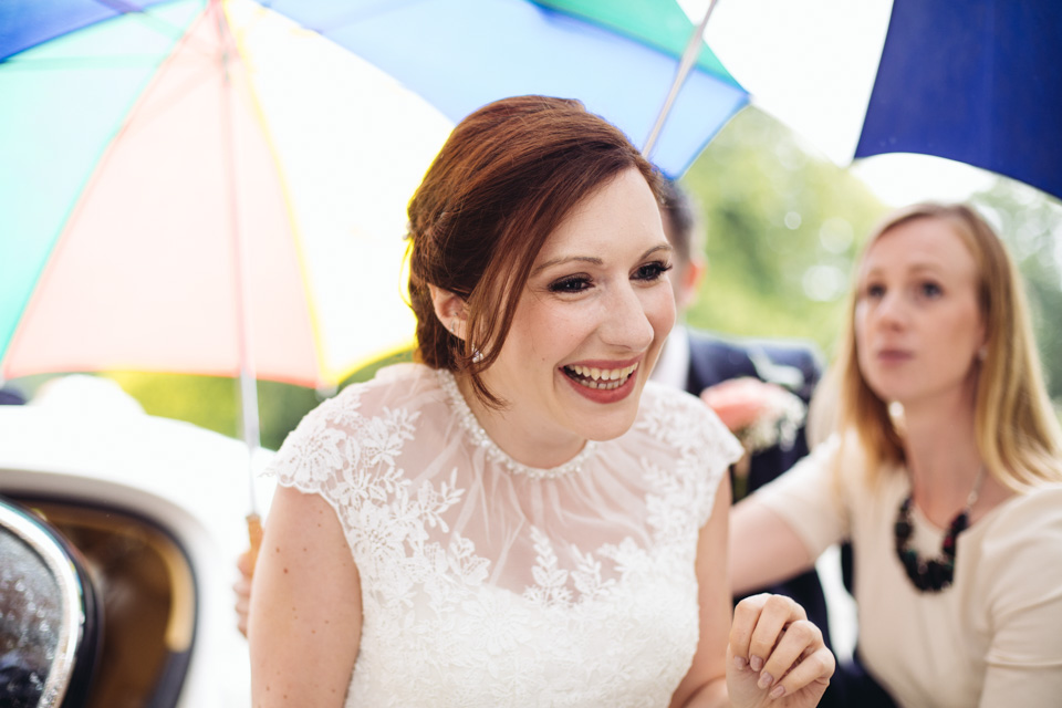 Wes & Gemma - Rainy British DIY Wedding at Quinton House - www.catlaneweddings.com