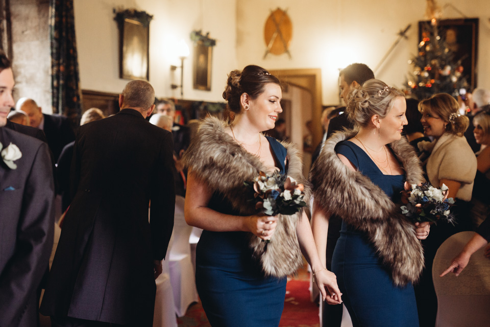 Sherie & Ian - Rockingham Castle Winter Wedding - www.catlaneweddings.com