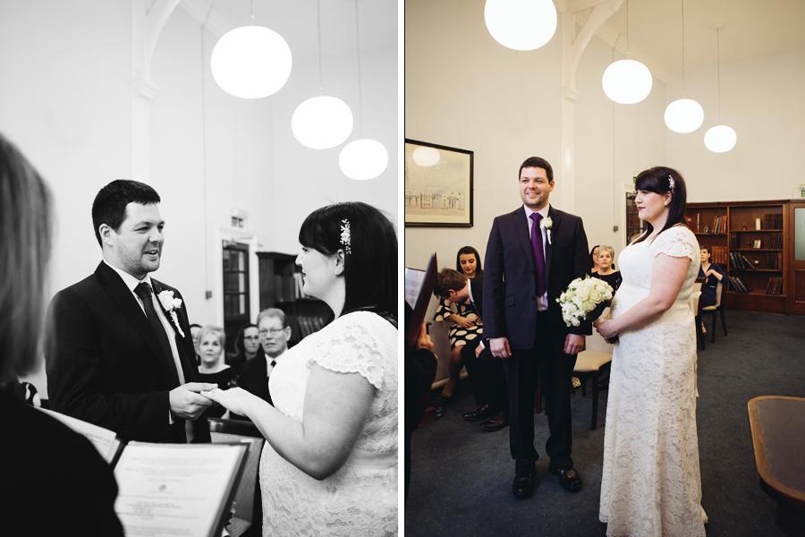 Laura & George: Mayfair Library Wedding London