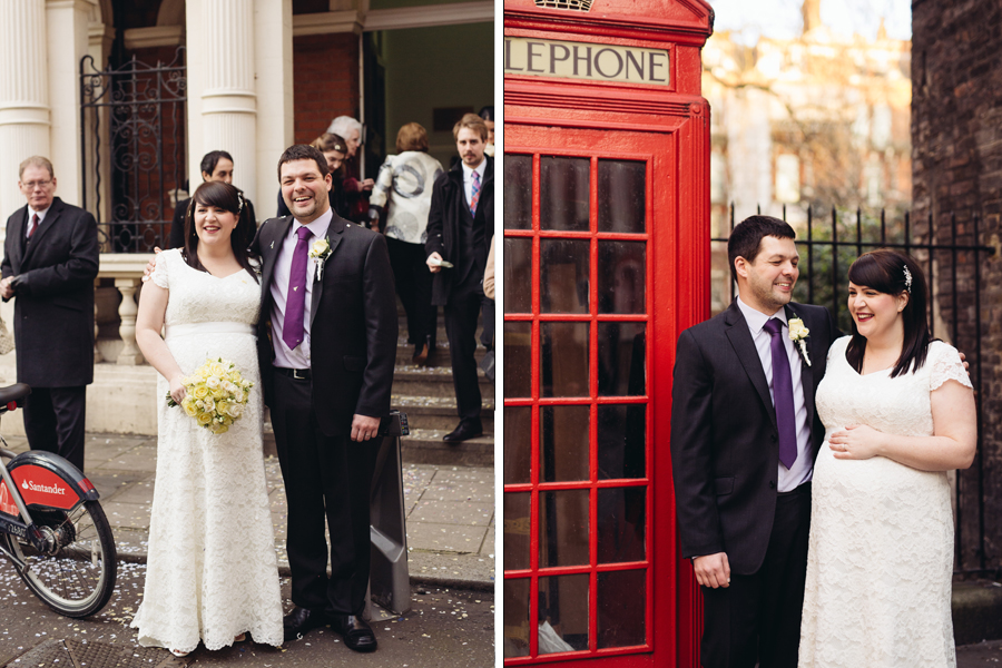 Laura & George: Mayfair Library Wedding London