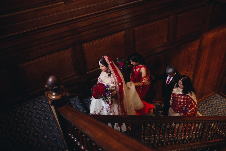 Heeran & Stuart - Royal Over-Seas League Wedding London - www.catlaneweddings.com