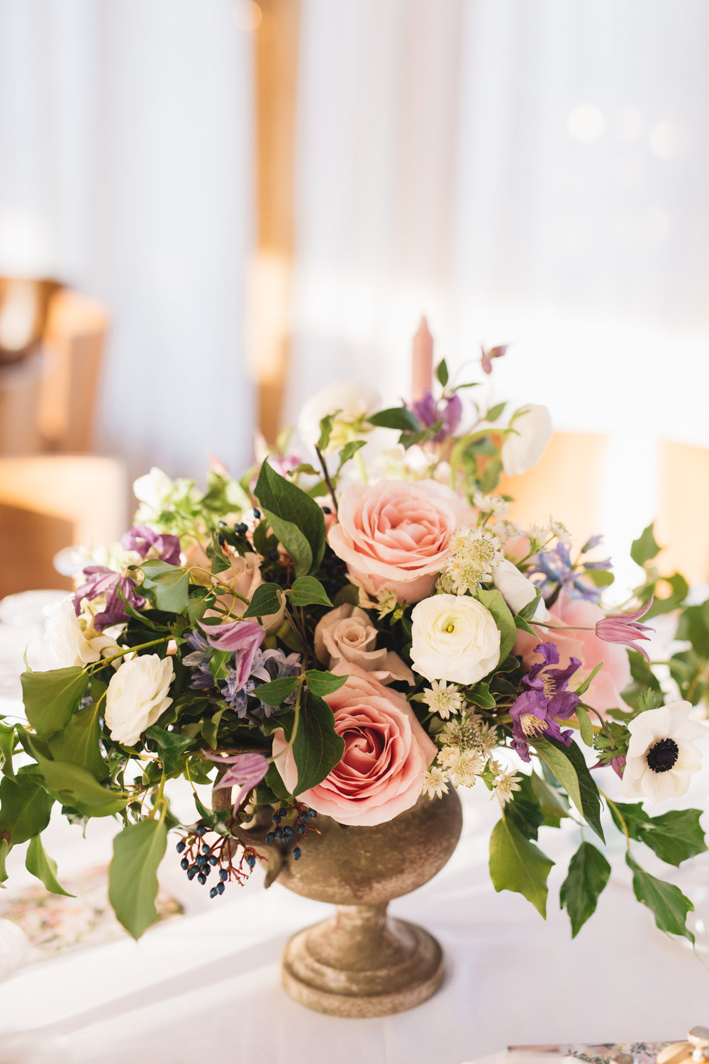 Centrepiece by  The Flower Story