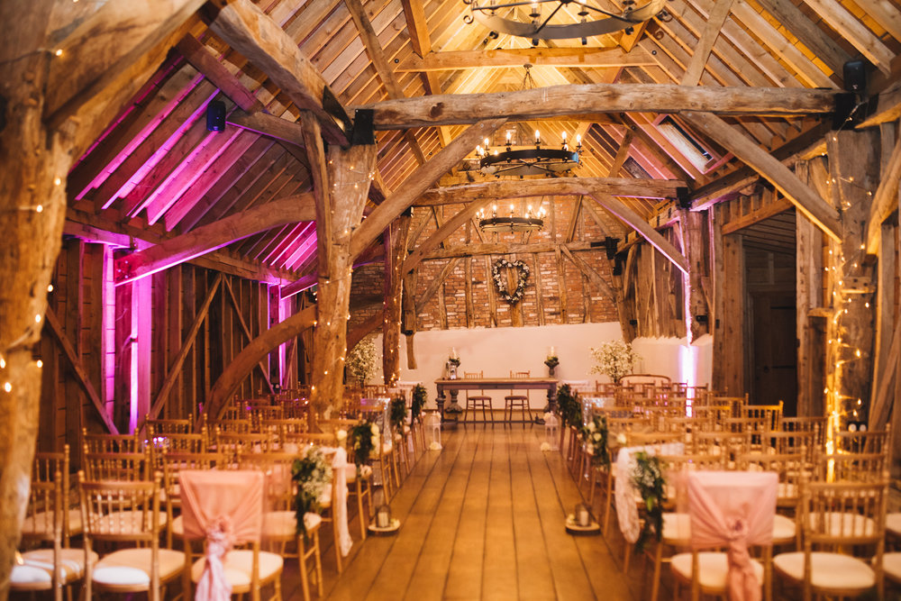 Rickety Barn decorated by  Olive events
