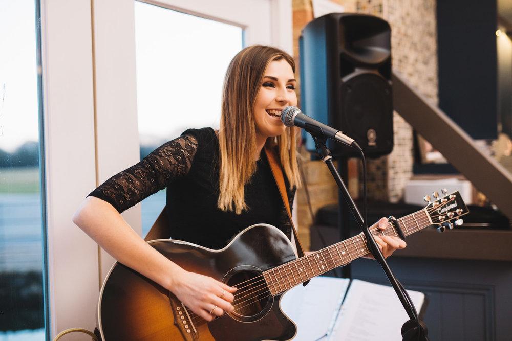 Live Music by  Cara Beard