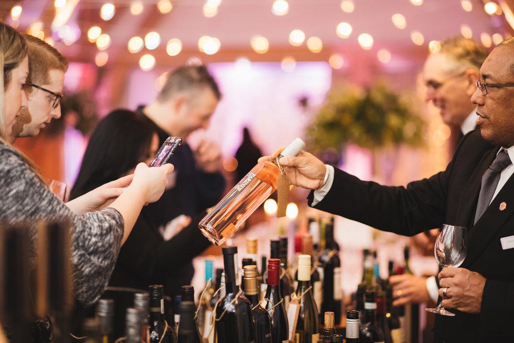 Wine tasting by  Galloping Gourmet