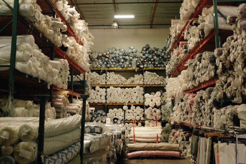 Fabric supply house