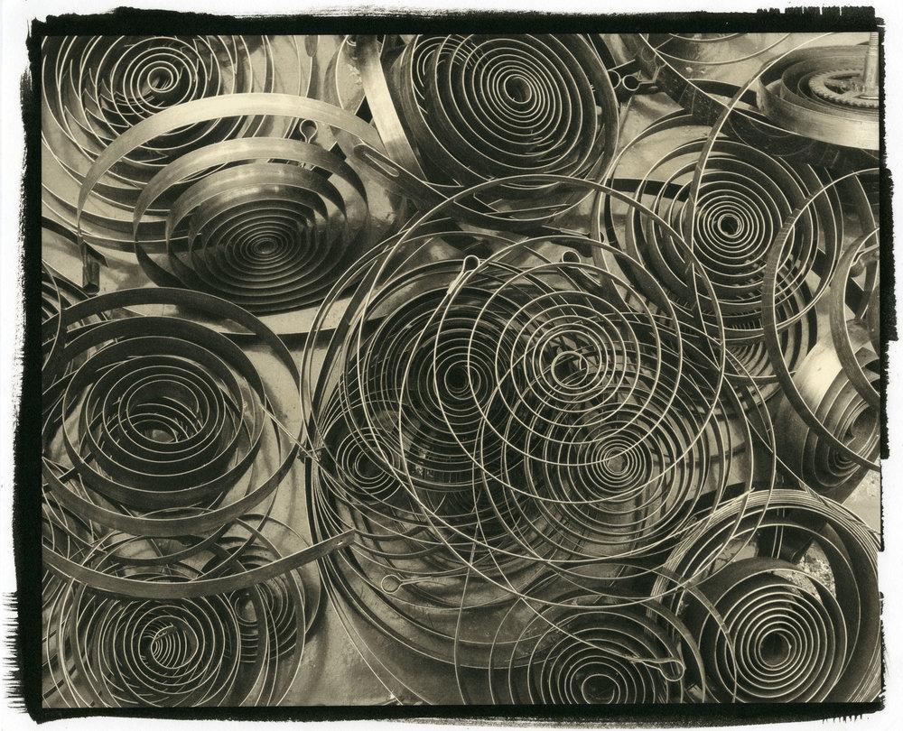 """Coils  (Platinum/Palladium Print, 8 x 10"""")"""
