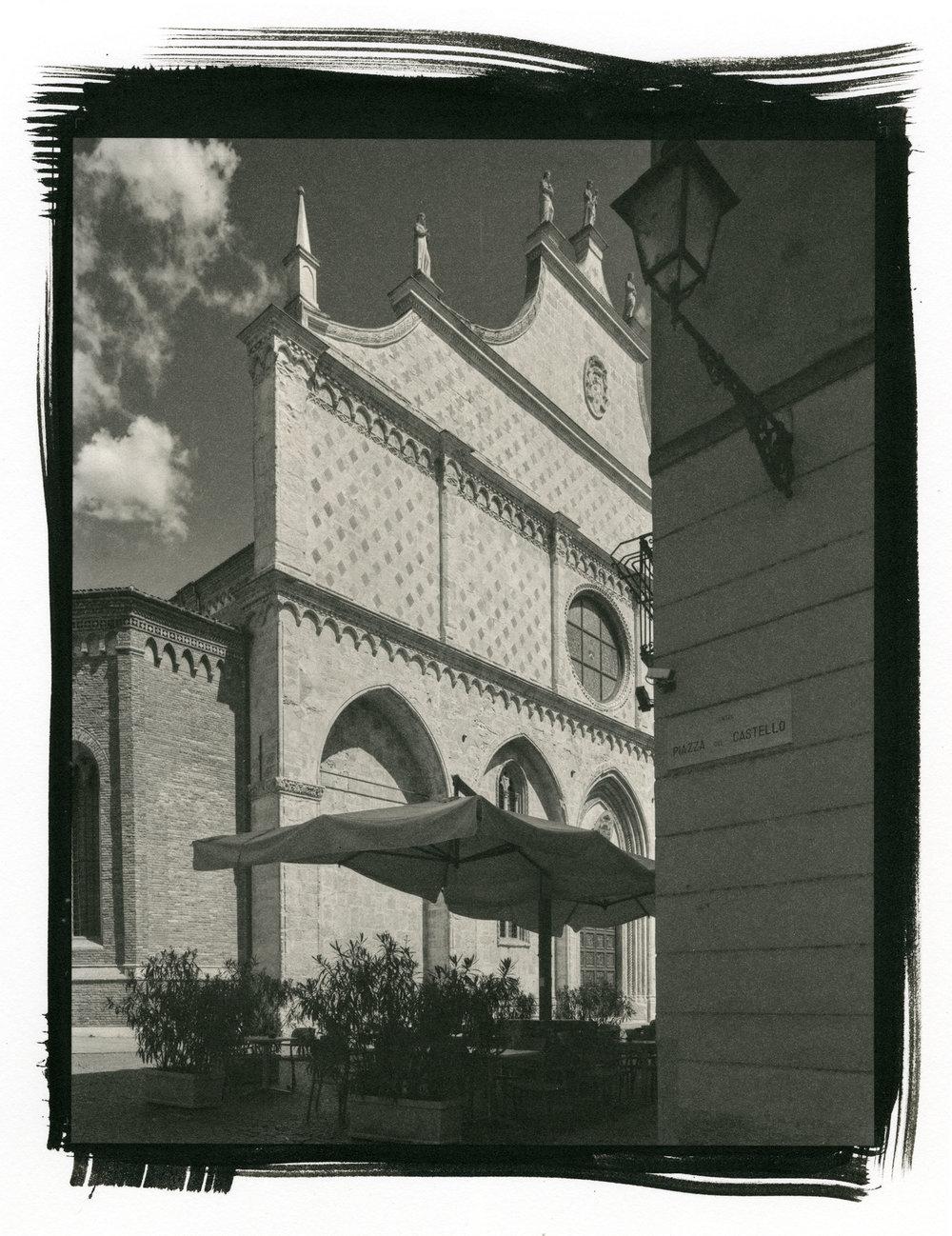 """Cathedrale de Vicenza (Platinum/Palladium Print, 8 x 10"""")"""