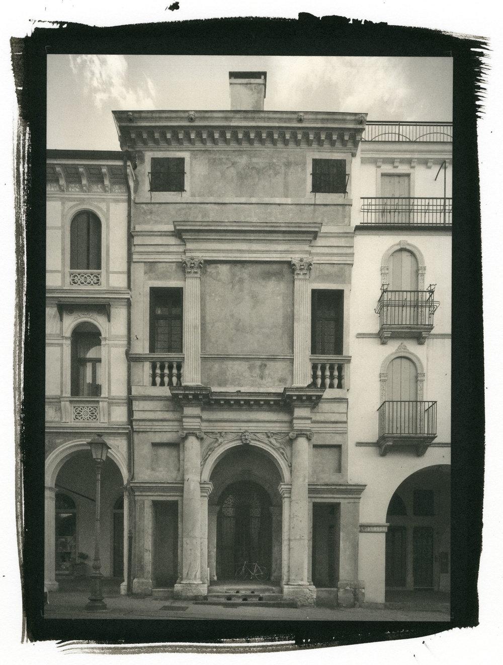 "Casa Gogollo, Vicenza Italy (Platinum/Palladium Print, 8 x 10"")"