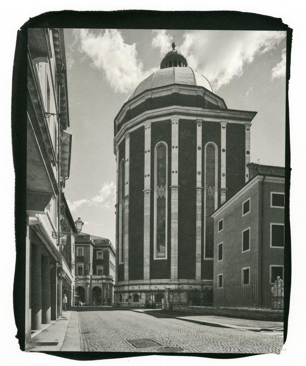 """Cathedrale de Viceneza, Cuppola (Platinum/Palladium Print, 8 x 10"""")"""