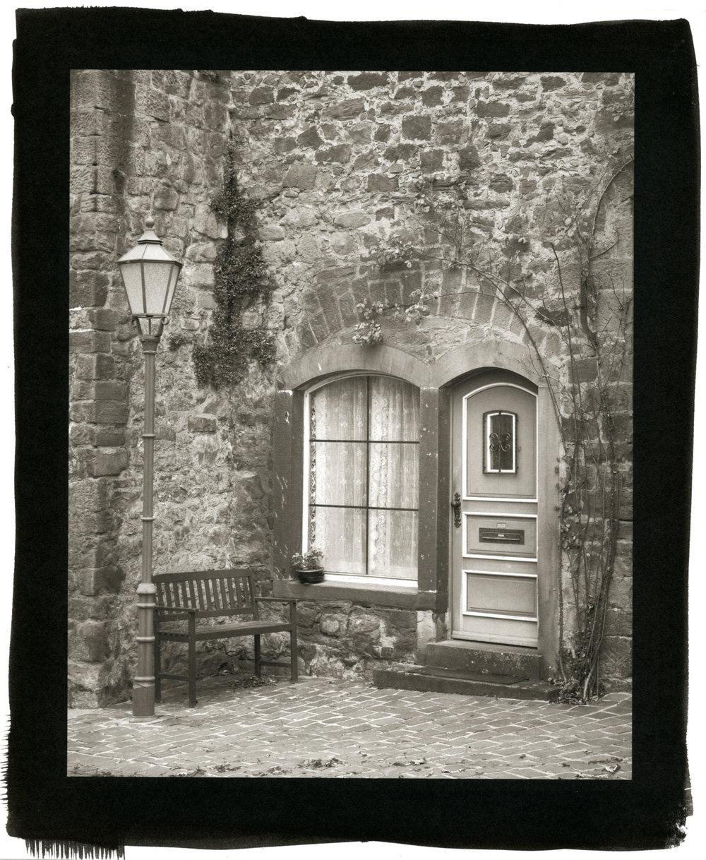 "Door, Büdingen (Platinum/Palladium Print, 8 x 10"")"