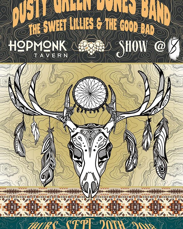 Playing tomorrow night with @goodbadtheband at @hopmonktavern ! One of my favorite North Bay venues.