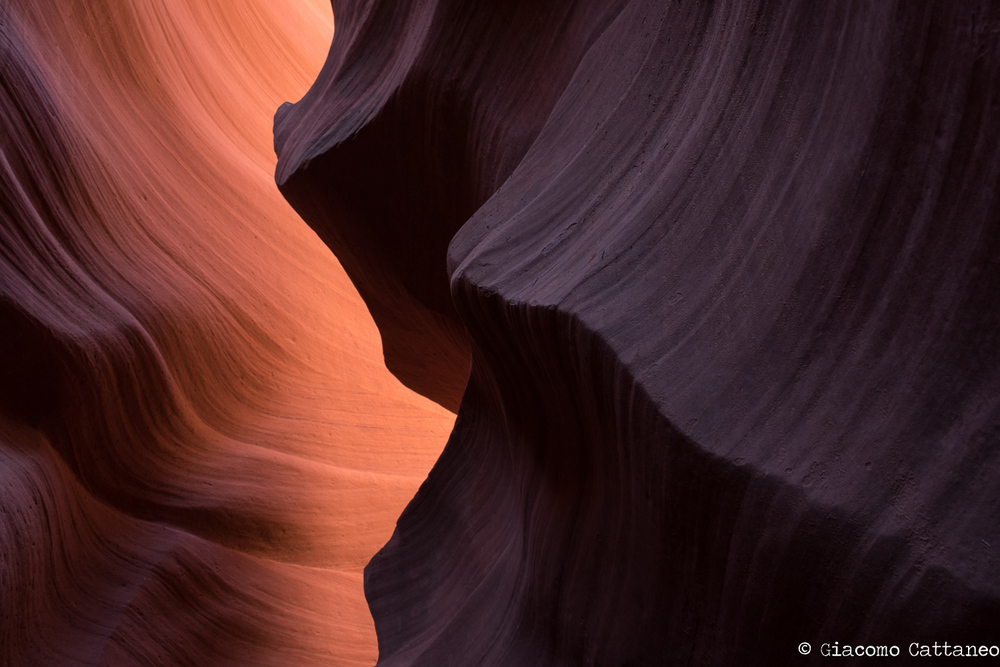 Antilope Canyon - ISO 500, 35mm, f/8, 1/20 sec