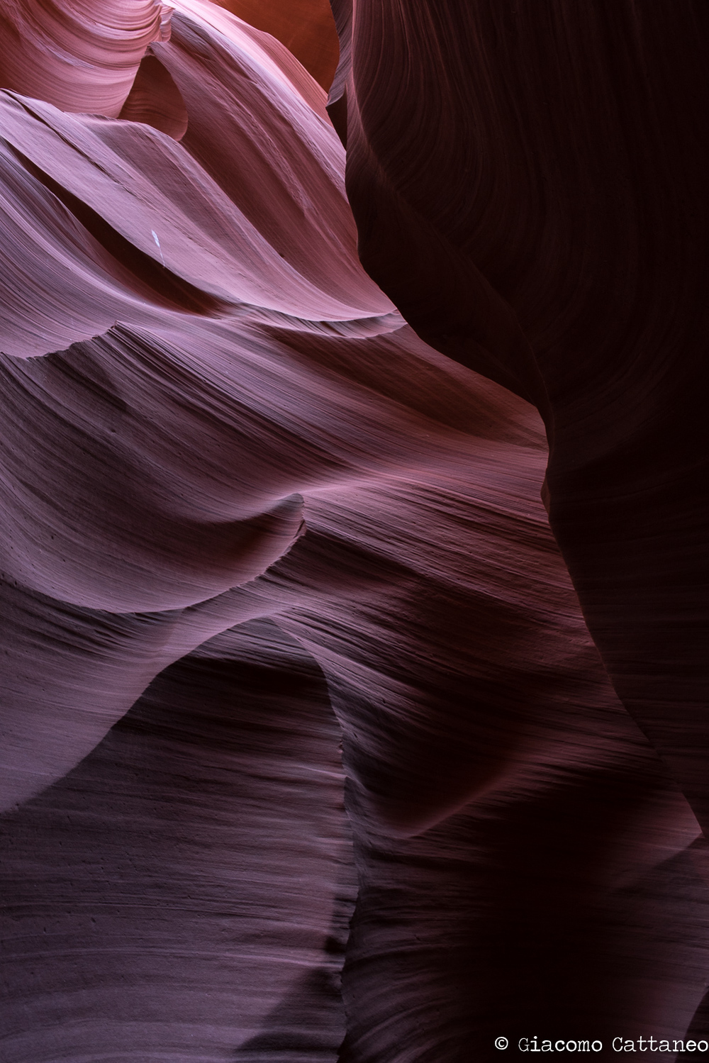 Antilope Canyon - ISO 640, 35mm, f/7.1, 1/25 sec