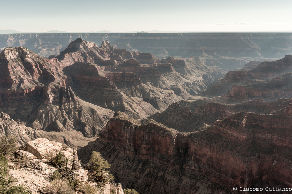 Grand Canyon, North Rim - ISO 200, 35mm, F/16, 1/100 sec