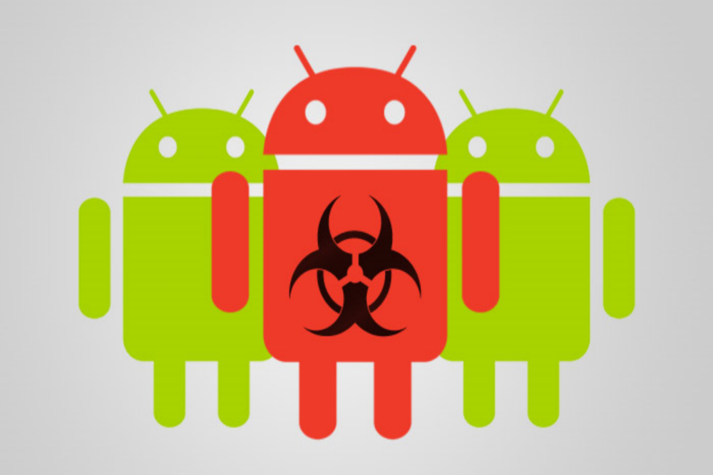 An example of how a mobile (Android) application that performs a useful function could contain hidden malicious software.