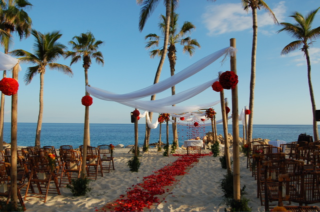 Ceremony in Cabo, Mexico