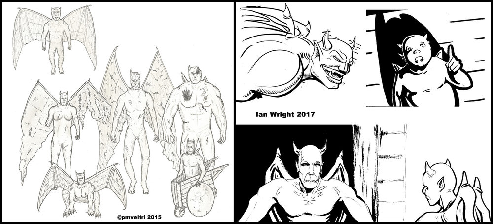 Early Gargoyle Designs