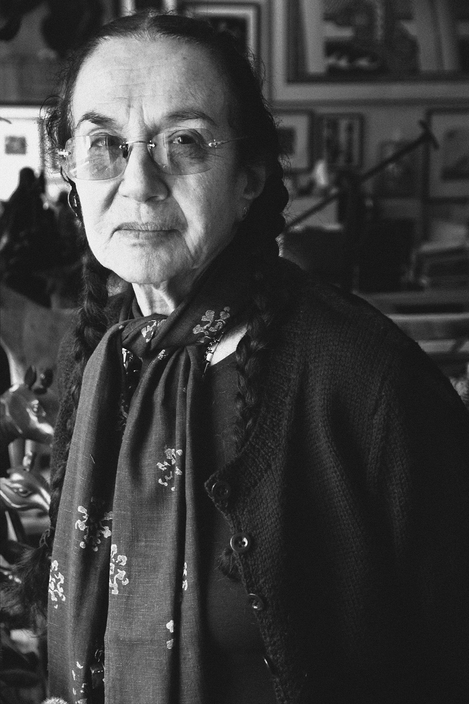 Marry Ellen Mark (USA,1940-2015) Atelier, New York City Photograph © Alban E. Smajli Courtesy by LE MILE Studios