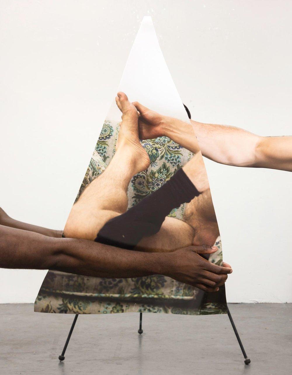 Paul Mpagi Sepuya  Mirror Study (4R2A0857). 2016. Pigmented inkjet print, 51 × 34′′ (129.5 × 86.4 cm). The Museum of Modern Art, New York. Fund for the Twenty-First Century. © 2017 Paul Mpagi Sepuya