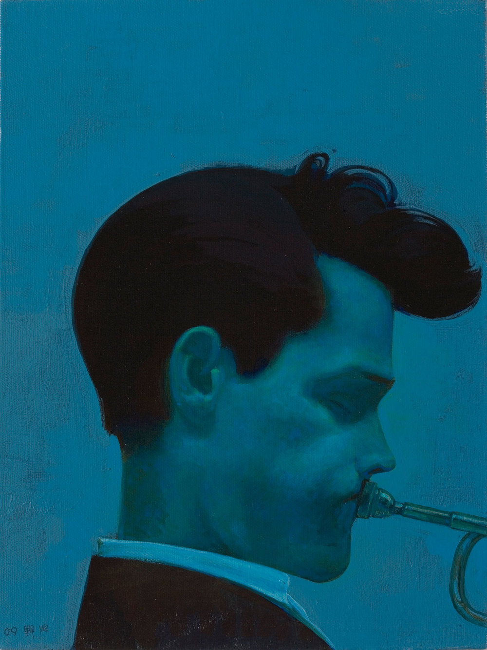 © Liu Ye  Chet Baker , 2009 Acrylic on canvas 40 x 30 cm Private Collection, Beijing