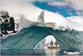 Sailing the Antarctic!