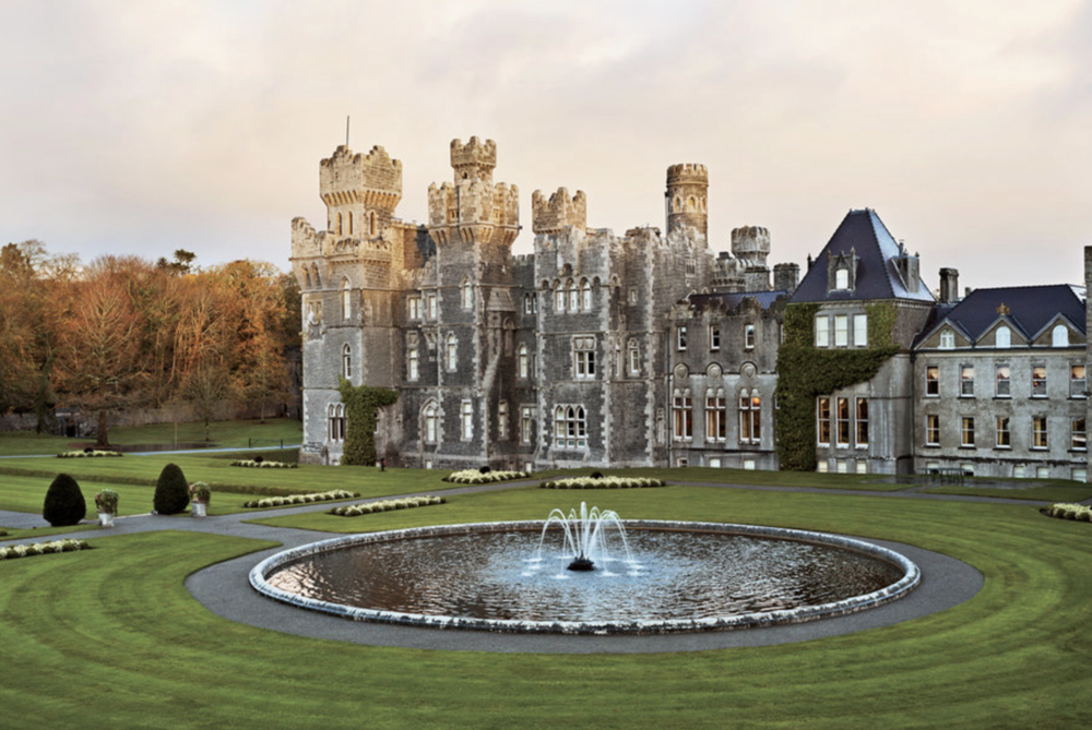 Ashford Castle - From working in the kitchen of their first small supper club, Bea Tollman will go on to be one of the leading hotel owners in the world. This is the majestic Ashford Castle in Ireland which is run by the Tollman family.