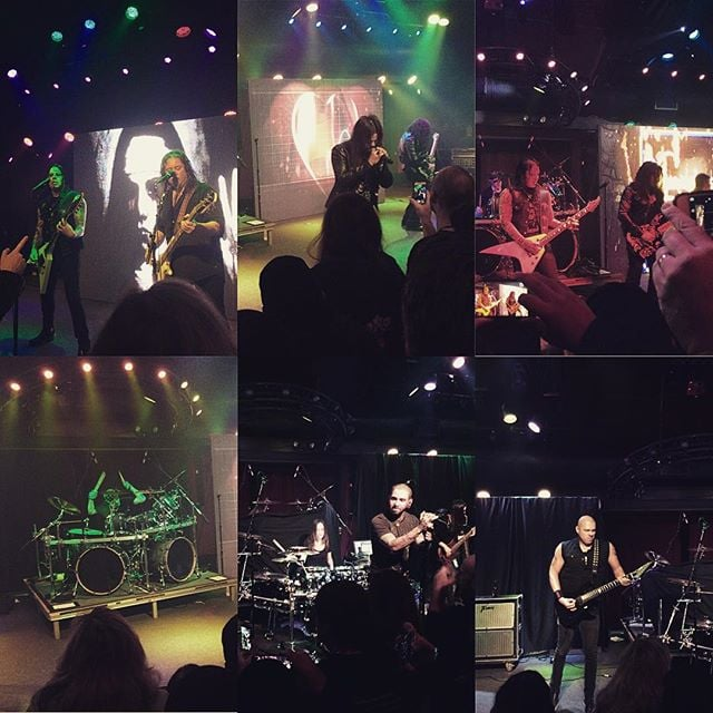 Such a great show put on by @queensrycheofficial, @meyta1cohen, and Halcyon Way last night at @rockbartheater! Packed house and saw a ton of friends! #metal #empire #mindcrime #meytal #rock #livemusic