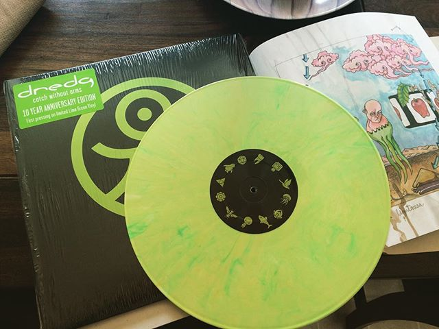 That's how a record is done kids. #dredg #catchwithoutarms #catchwithoutarmsvinyl
