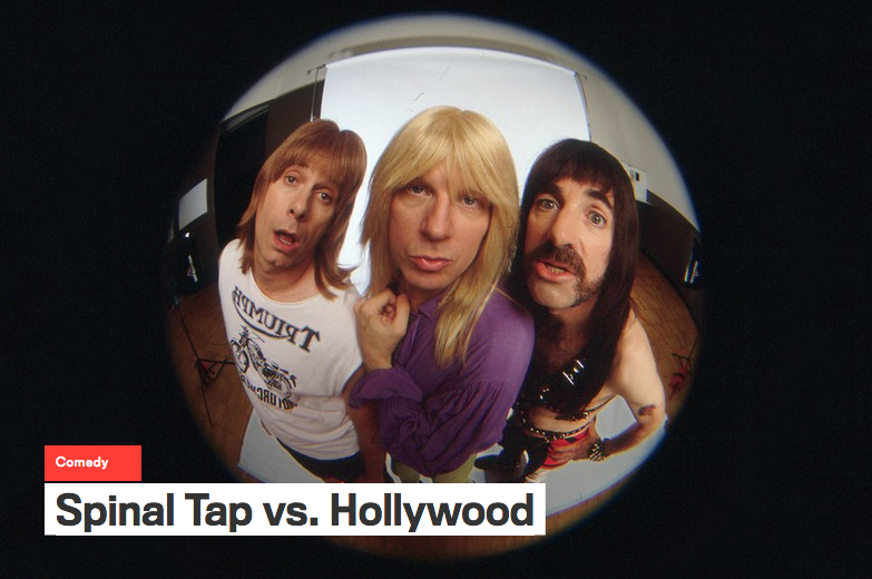 Podcast - Spinal Tap v. Hollywood with Harry Shearer and me: open.spotify.com