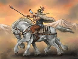 Odin on Sleipnir
