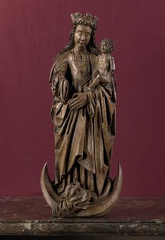The Virgin Mary with Jesus