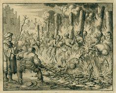 The burning of Anabaptists at Salzburg, 1528