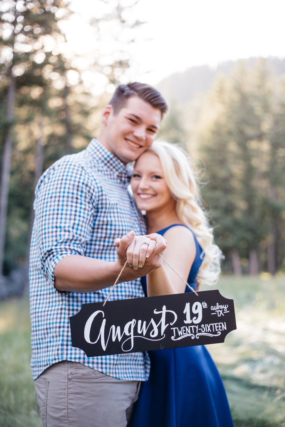 Tyler and Brenna had an eight-month engagement before their stunning Dallas wedding.