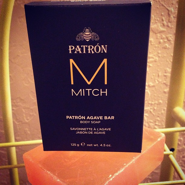 @Mitch by @paulmitchellus new #bodysoap Nothing like #natural cleansers and soothing #agave to #refreshen your #skin! Love it!! @PatronTequila