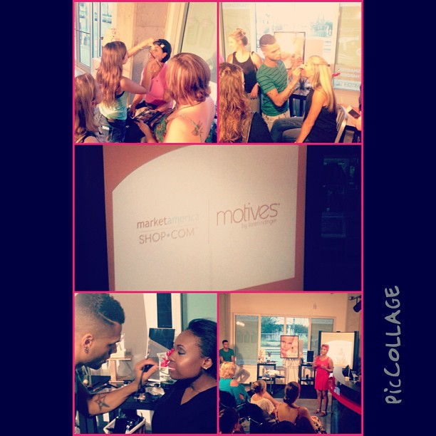Our @motives #makeup event was a major success thanks to all that came out and got their hands in @motivescosmetics by @lorenridinger and @lala