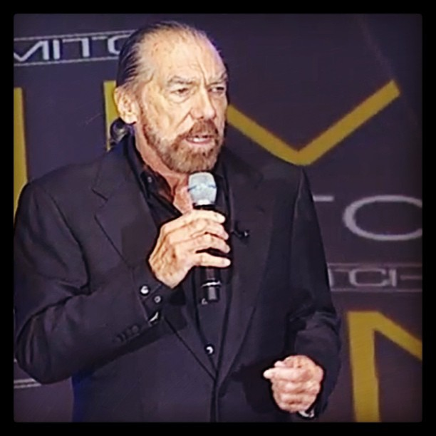 @johnpauldejori1 welcomes all the @paulmitchellus family to #pmgathering #lasvagas