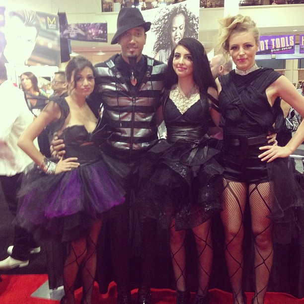 Some of the beautiful @paulmitchellus models #premierebeautyshow #orlando @noogiethai